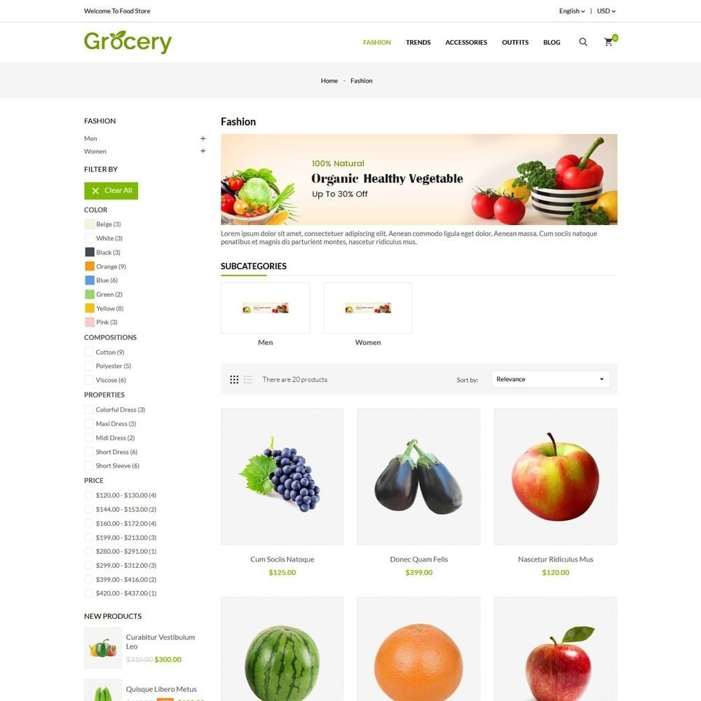 theme - Alimentation & Restauration - Grocery Store - 3
