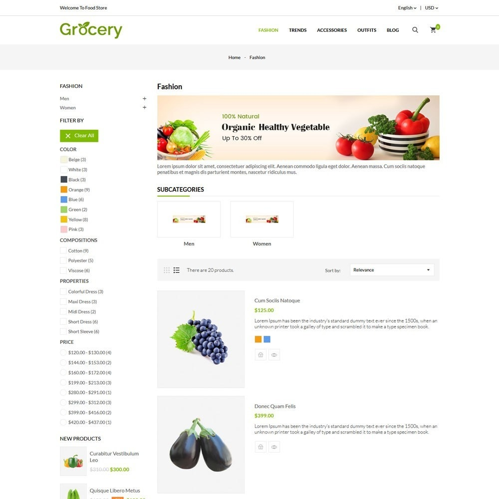 theme - Alimentation & Restauration - Grocery Store - 4