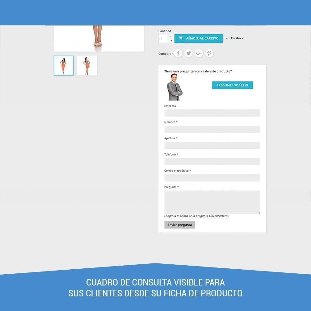 module - Formulario de contacto y Sondeos - Preguntas en ficha de producto - 2