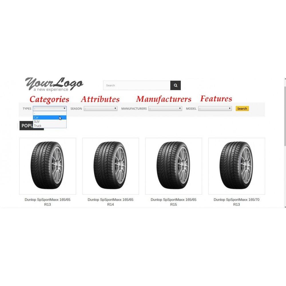 module - Suche & Filter - FlexSearch - CascadeMIX - 2