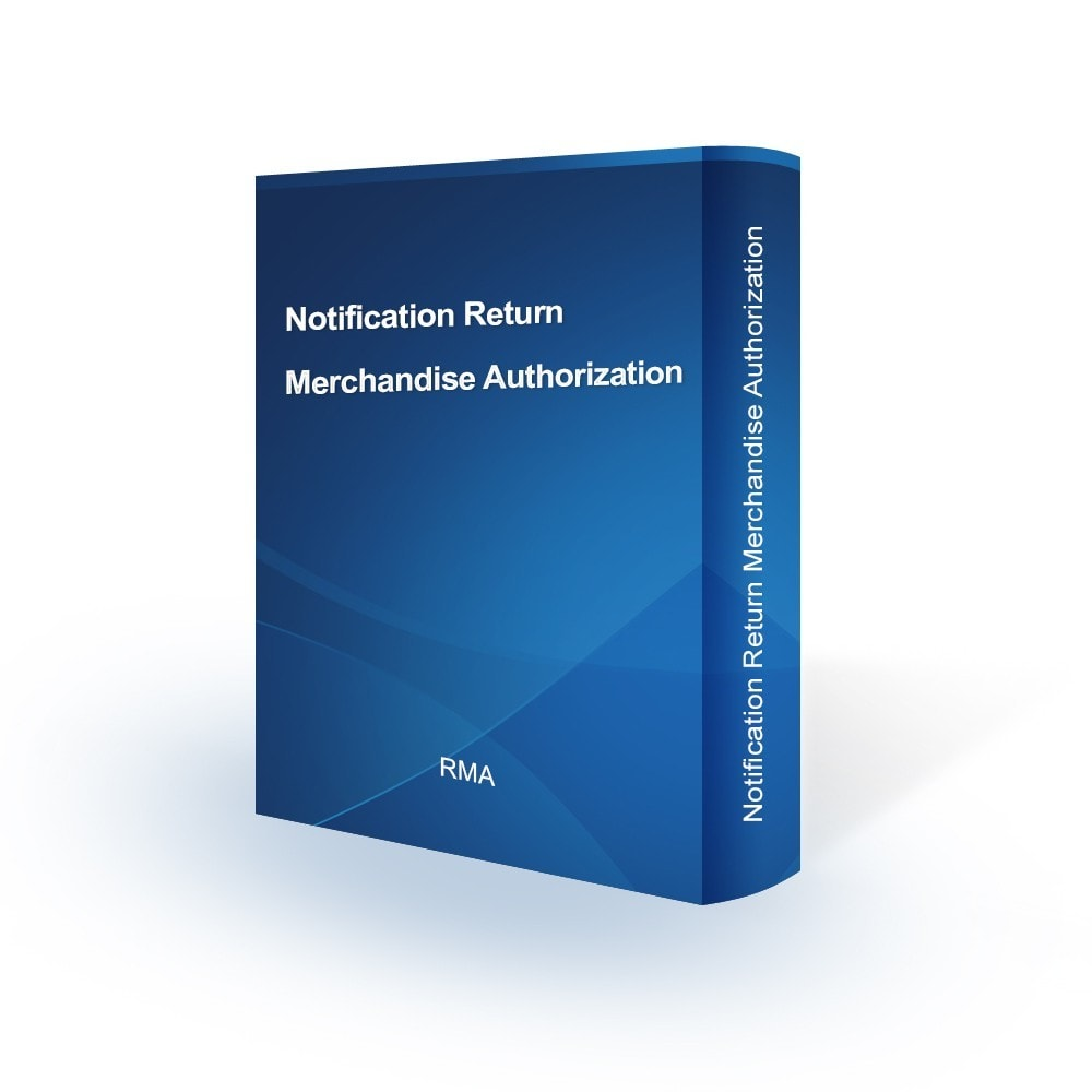 module - E-mails & Notícias - Notification Return Merchandise Authorization - 1
