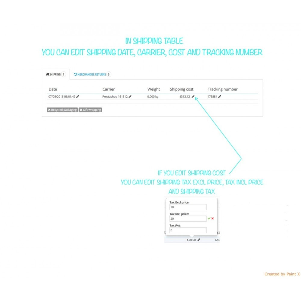 module - Gestion des Commandes - Management des commandes, édition des commandes - 4