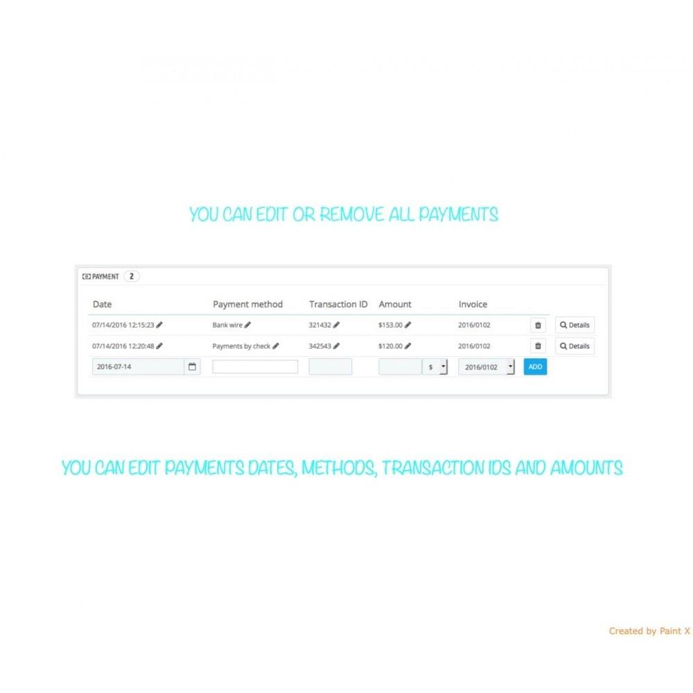 module - Gestion des Commandes - Management des commandes, édition des commandes - 5