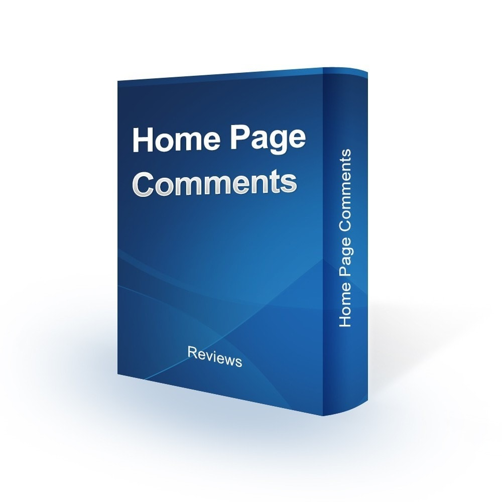 module - Customer Reviews - Home Page Comments - 1