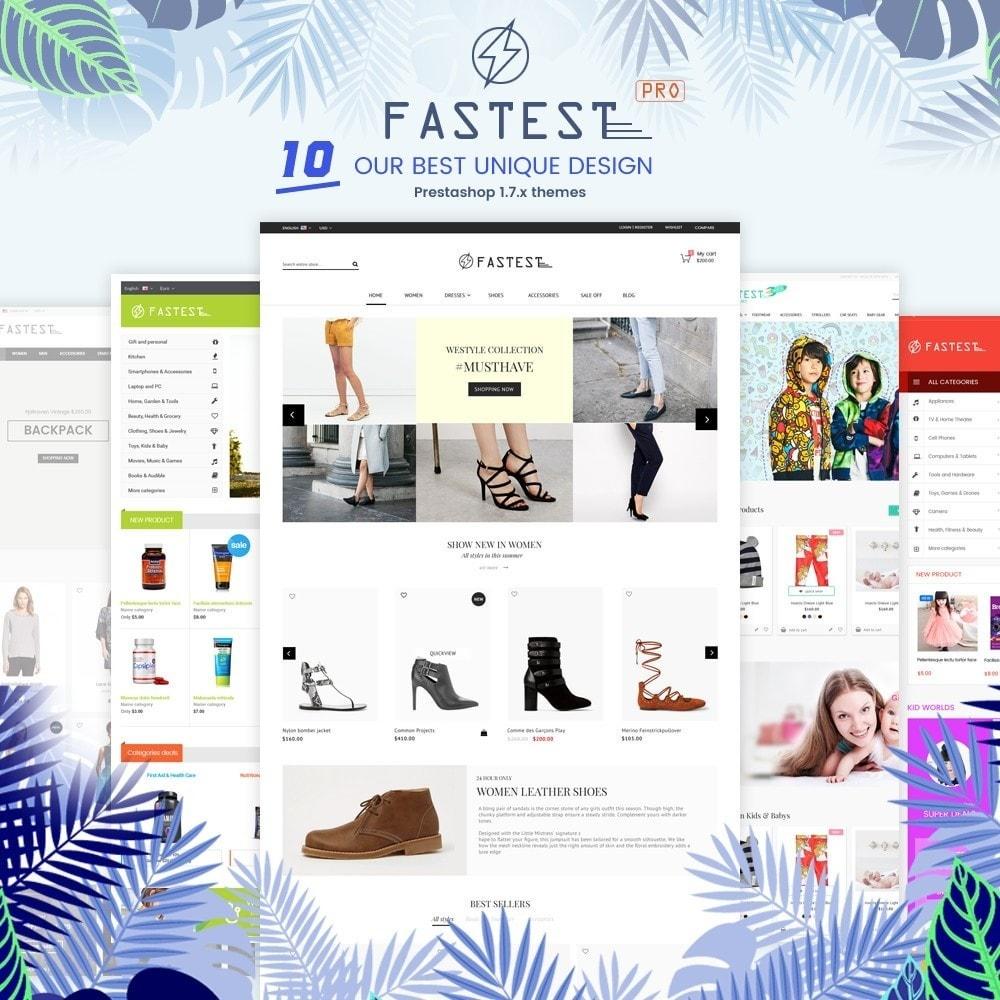 theme - Mode & Schoenen - Fastest - Fashion & Accessories Multi Purpose-5 design - 2