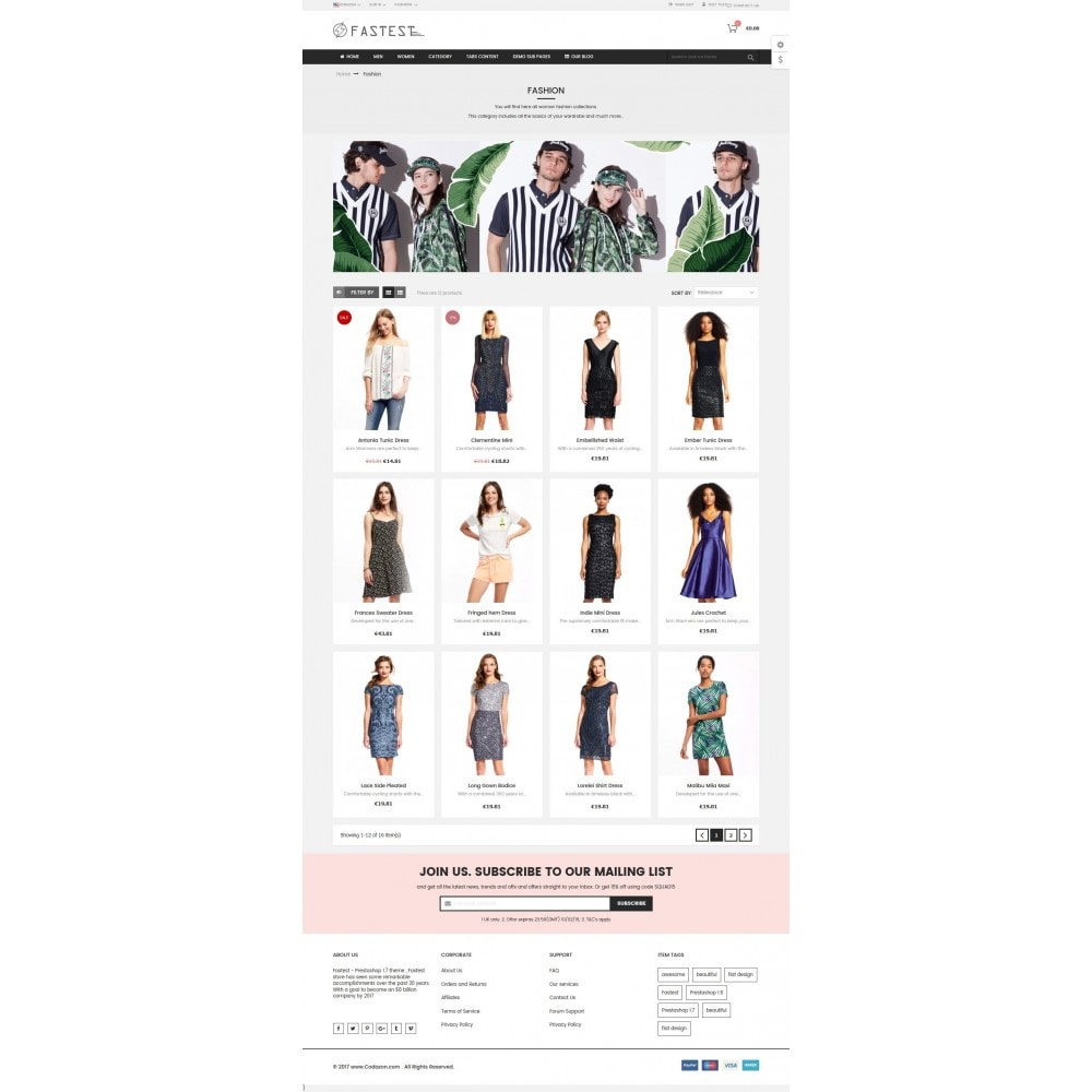 theme - Mode & Schoenen - Fastest - Fashion & Accessories Multi Purpose-5 design - 16