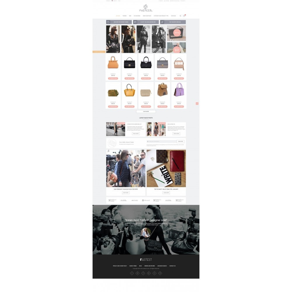 theme - Mode & Schoenen - Fastest - Fashion & Accessories Multi Purpose-5 design - 17
