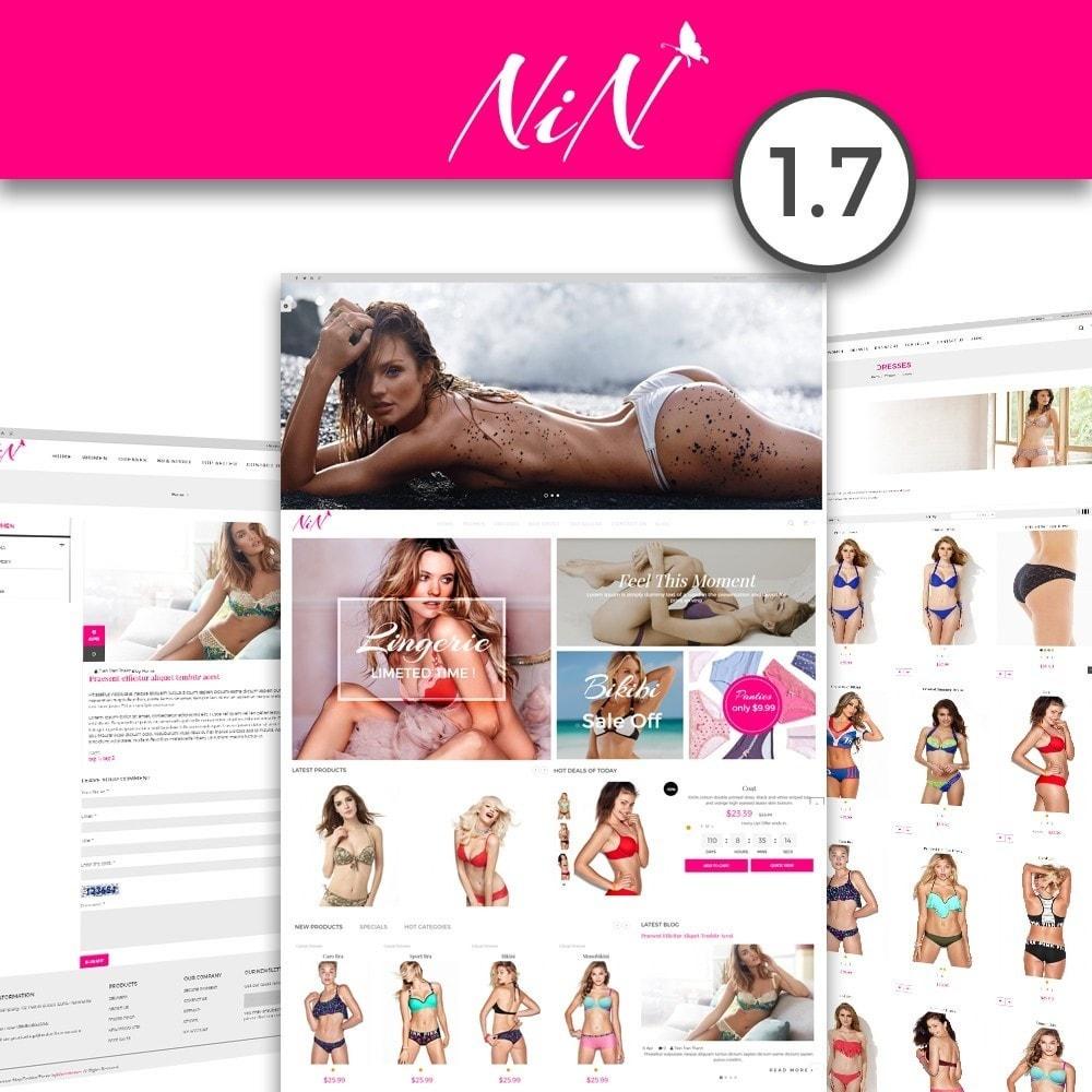 theme - Lingerie & Adult - Bikini And Lingerie Shop - 1