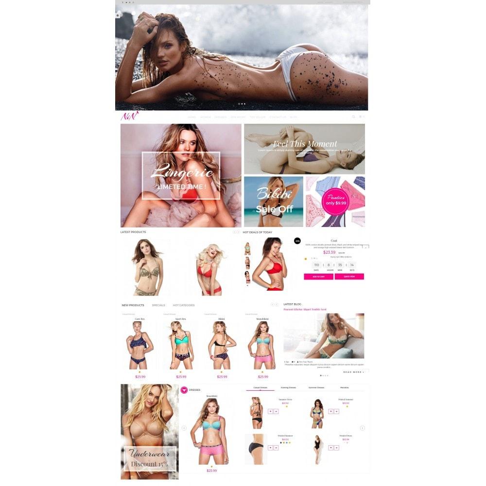 theme - Lingerie & Adult - Bikini And Lingerie Shop - 2