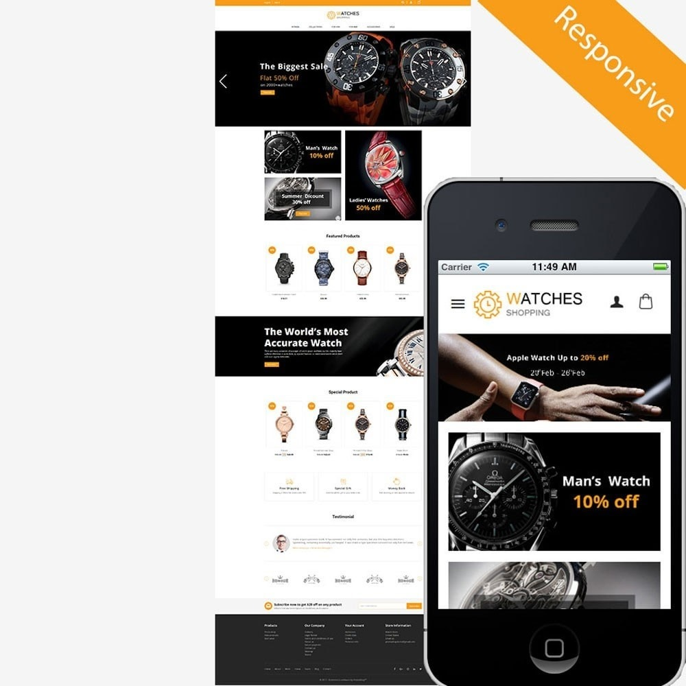 theme - Moda & Calzature - Watch Store - 1