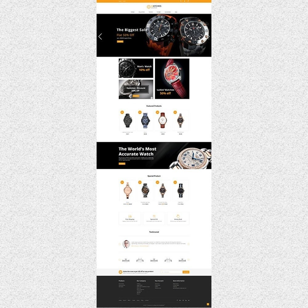theme - Moda & Calzature - Watch Store - 2