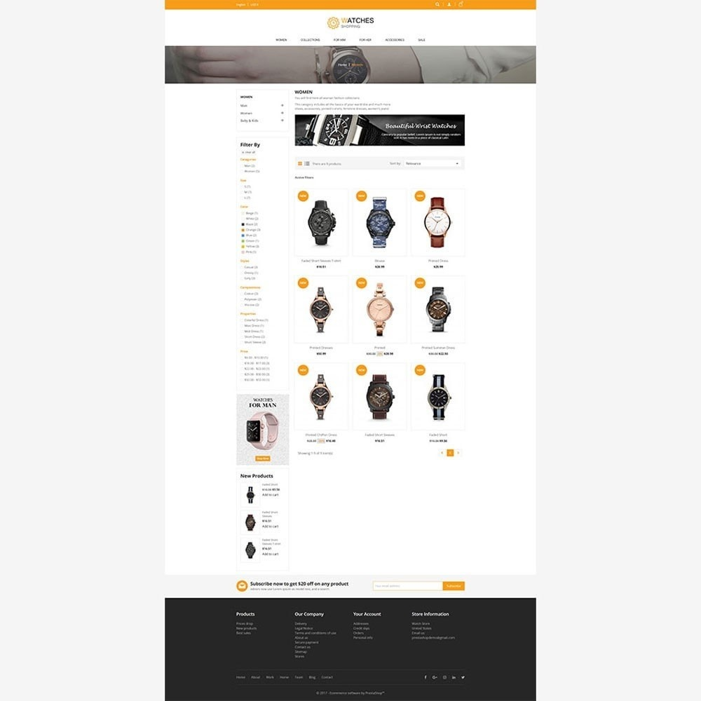 theme - Moda & Calzature - Watch Store - 3