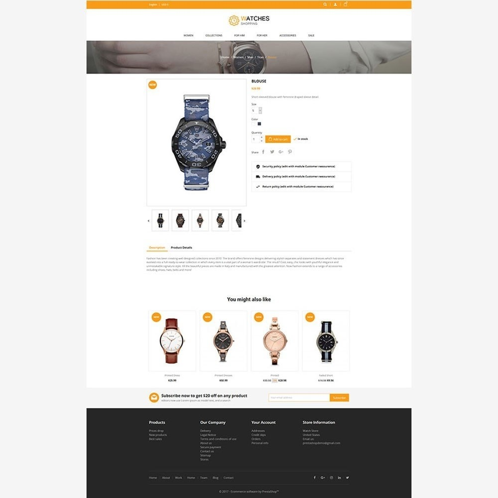 theme - Moda & Calzature - Watch Store - 4