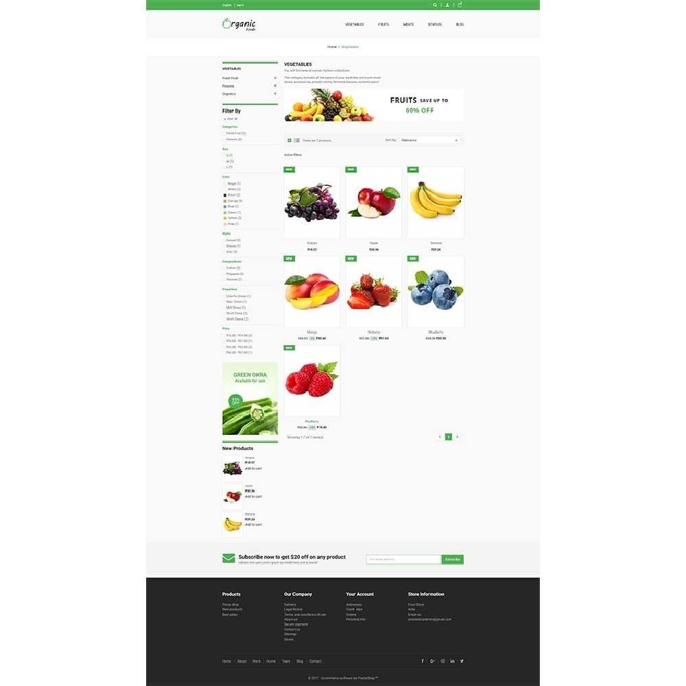theme - Alimentation & Restauration - Organic Food Store - 2