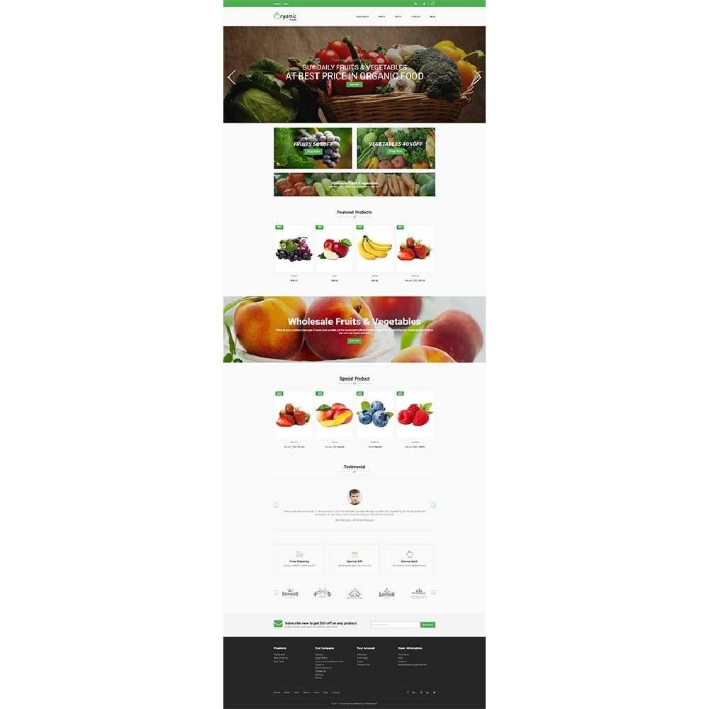 theme - Alimentation & Restauration - Organic Food Store - 3