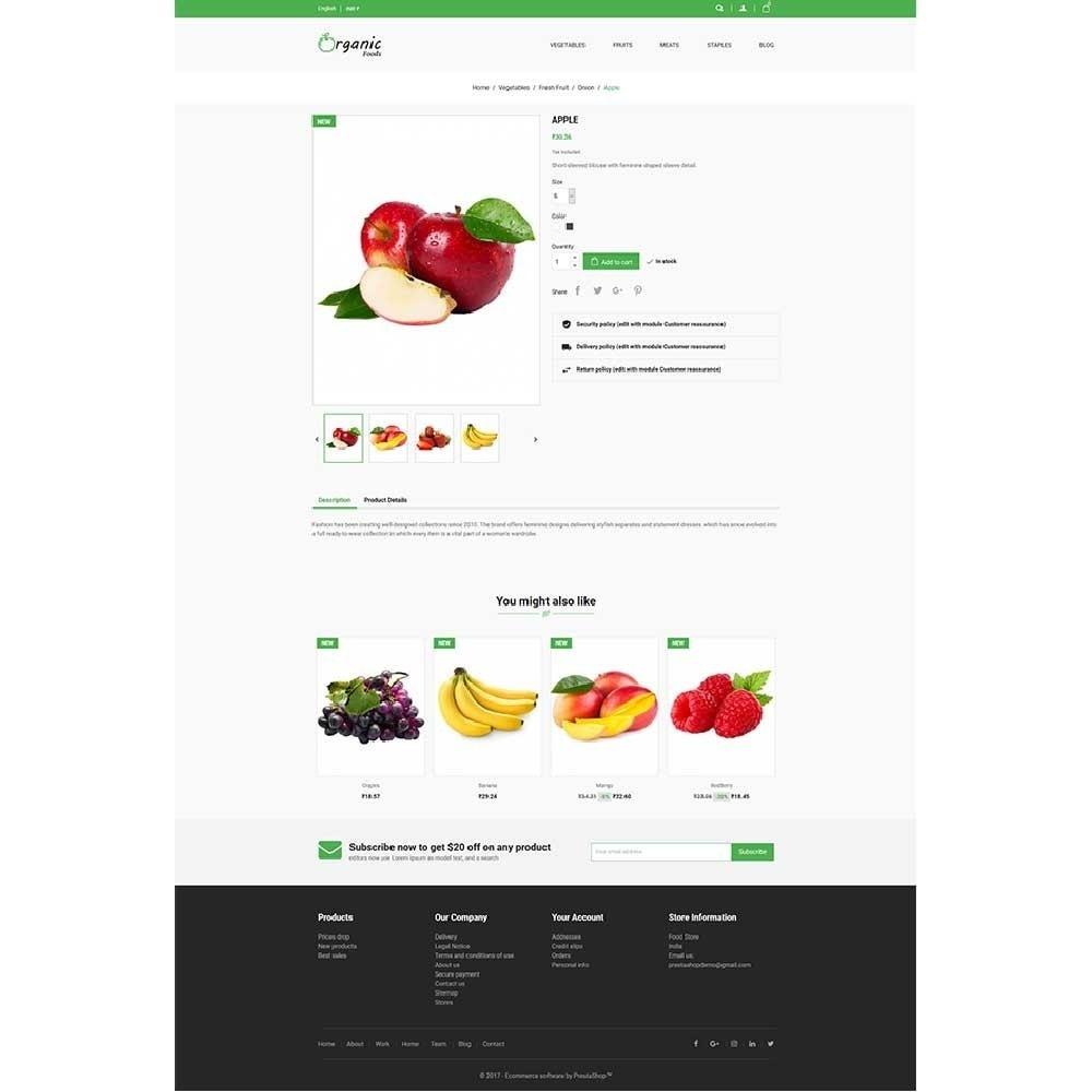 theme - Alimentation & Restauration - Organic Food Store - 4