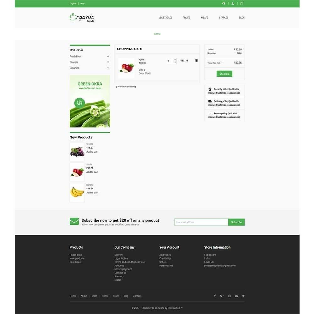 theme - Alimentation & Restauration - Organic Food Store - 5
