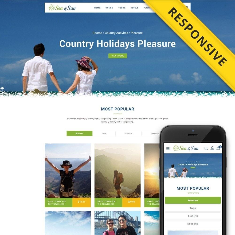 theme - Sport, Aktivitäten & Reise - Sea & Sun - Travel Store - 1