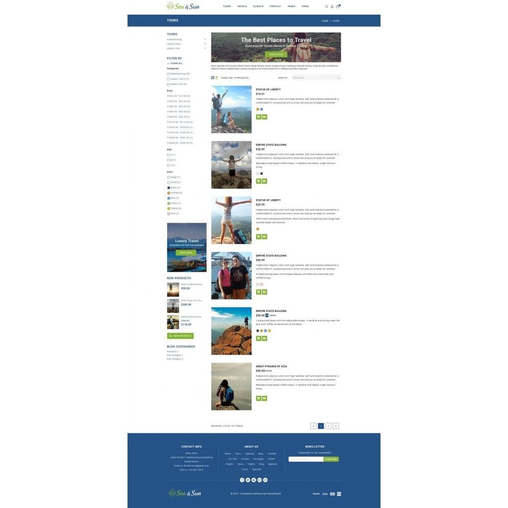 theme - Sport, Aktivitäten & Reise - Sea & Sun - Travel Store - 4