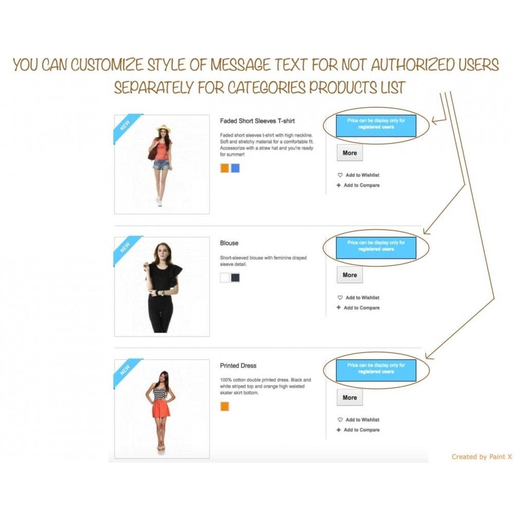 module - Gestión de clientes - B2B Ocultar precios para clientes no autorizados - 4