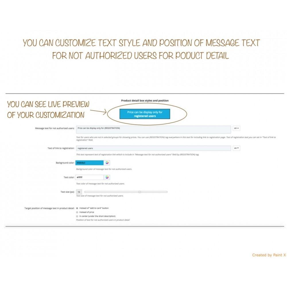 module - Gestión de clientes - B2B Ocultar precios para clientes no autorizados - 6