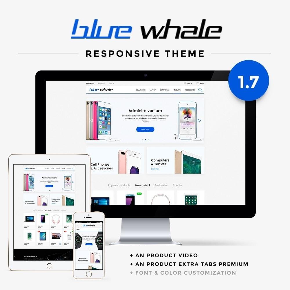 theme - Electronics & Computers - Blue Whale - High-tech Shop - 1