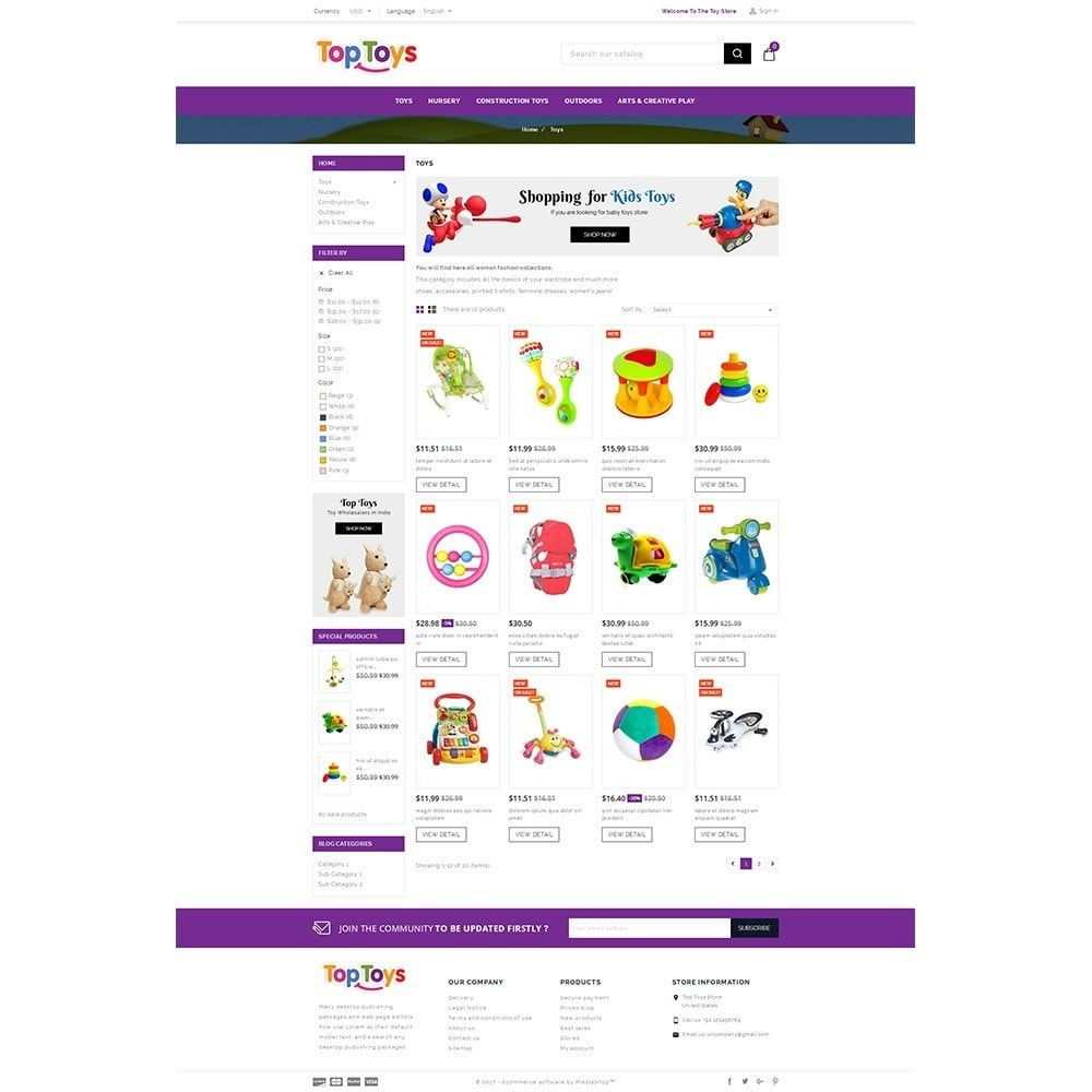 theme - Kinder & Spielzeug - Top Toys Store - 3