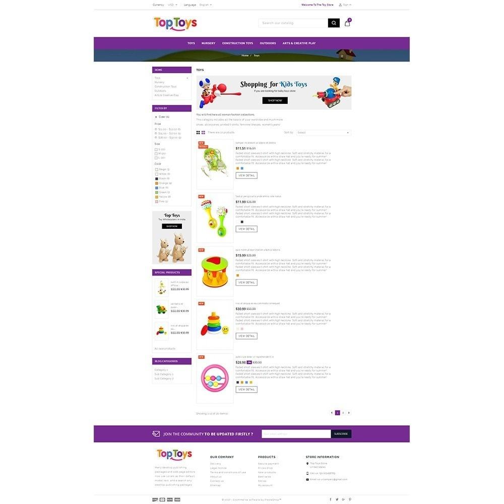 theme - Дети и Игрушки - Top Toys Store - 4
