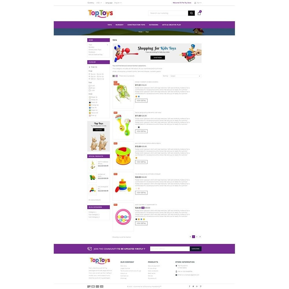 theme - Kinder & Spielzeug - Top Toys Store - 4