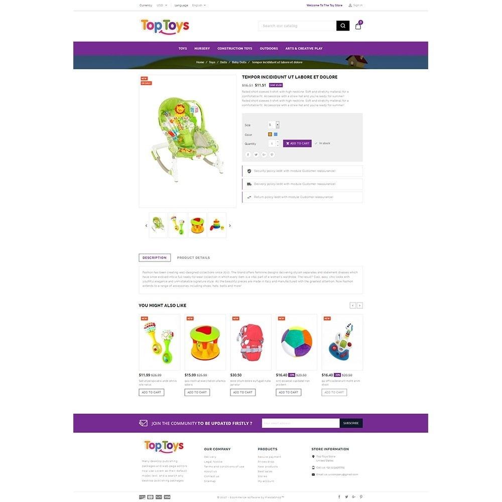 theme - Дети и Игрушки - Top Toys Store - 5