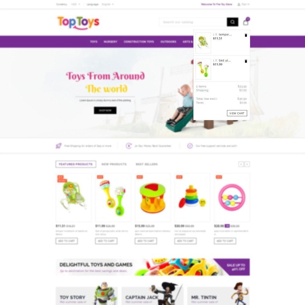 theme - Дети и Игрушки - Top Toys Store - 7