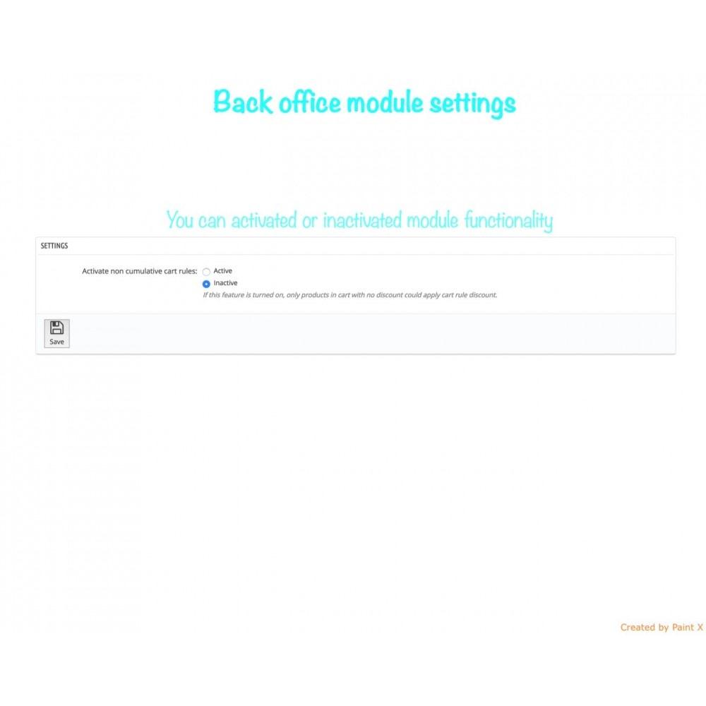 module - Promociones y Regalos - Descuentos no acumulables con otros descuentos - 5