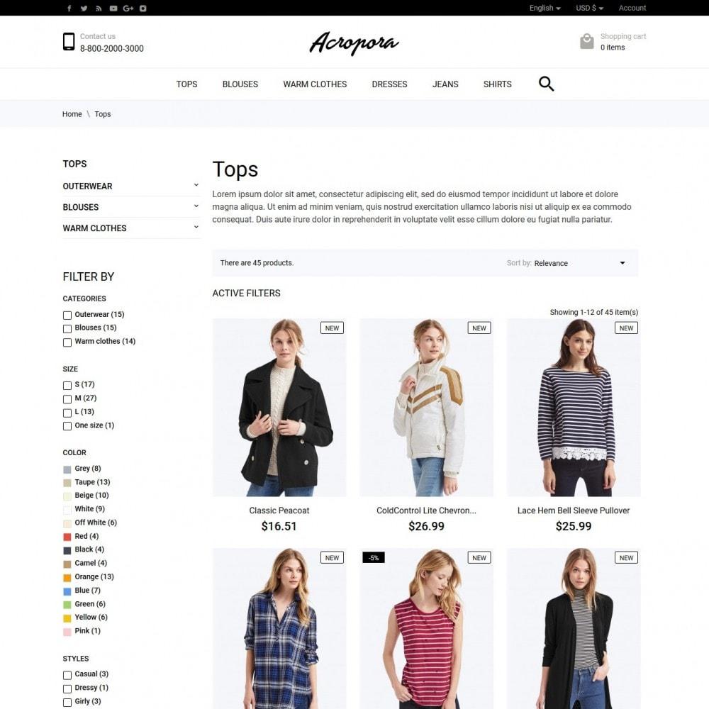 theme - Fashion & Shoes - Acropora Fashion Store - 5