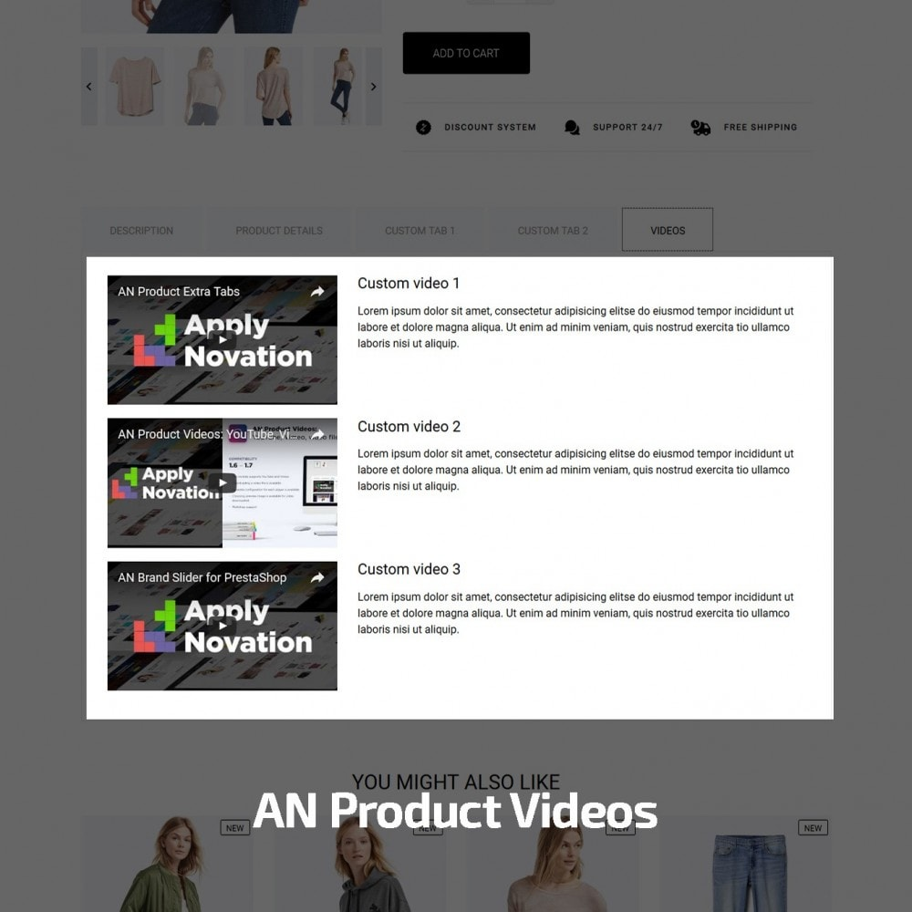 theme - Mode & Chaussures - Acropora Fashion Store - 8