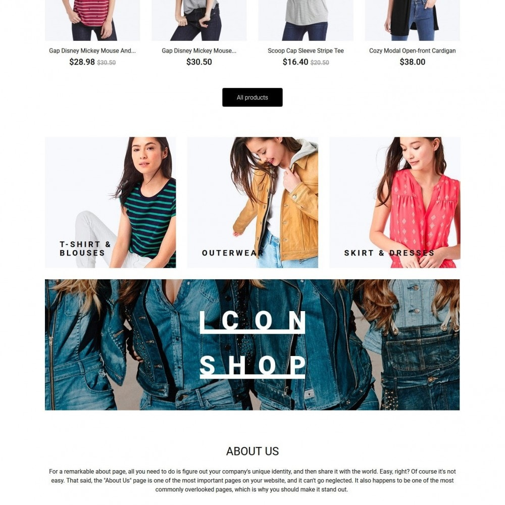 theme - Mode & Chaussures - Acropora Fashion Store - 3