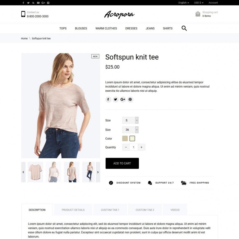 theme - Moda & Calzature - Acropora Fashion Store - 6