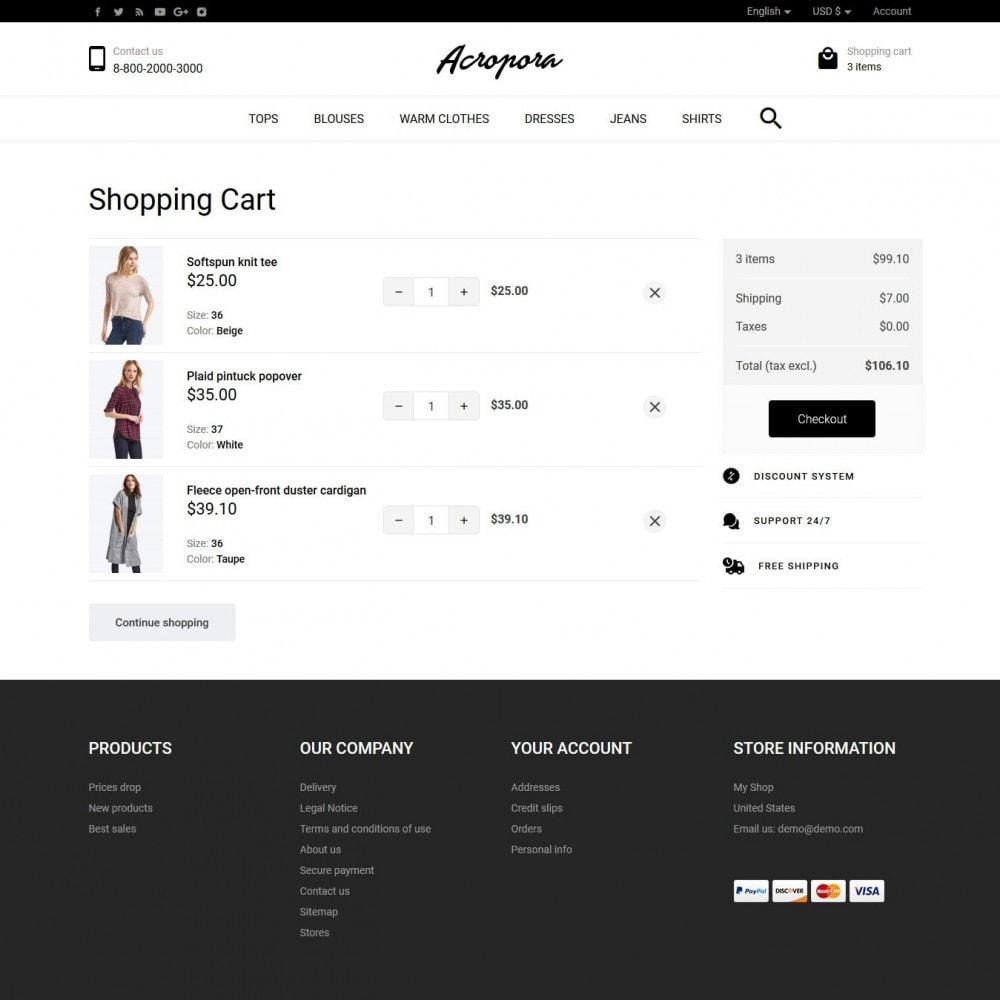 theme - Fashion & Shoes - Acropora Fashion Store - 7