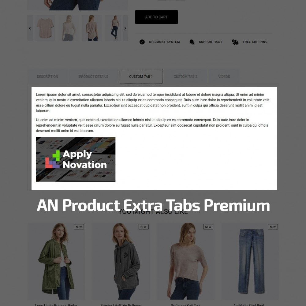theme - Mode & Chaussures - Acropora Fashion Store - 9