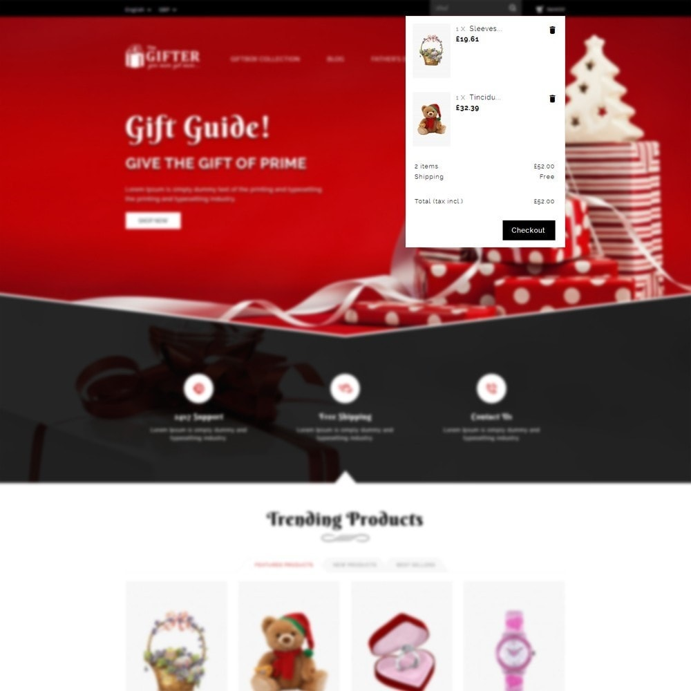 theme - Gifts, Flowers & Celebrations - Gifter - The Gift Store - 7