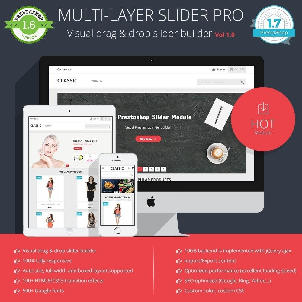 module - Sliders & Galerias - Slider PRO - 1