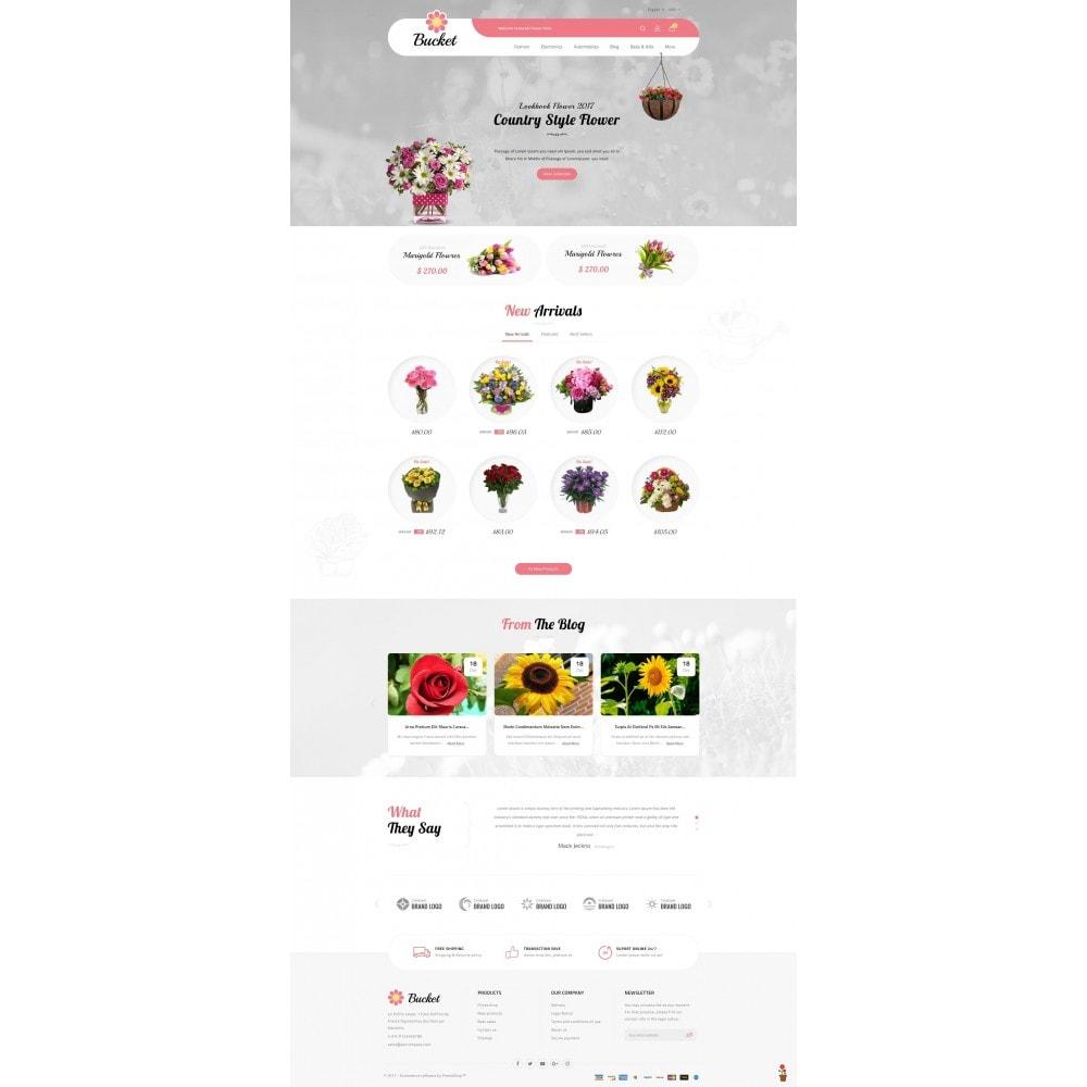 theme - Regalos, Flores y Celebraciones - Bucket Flower Store - 2