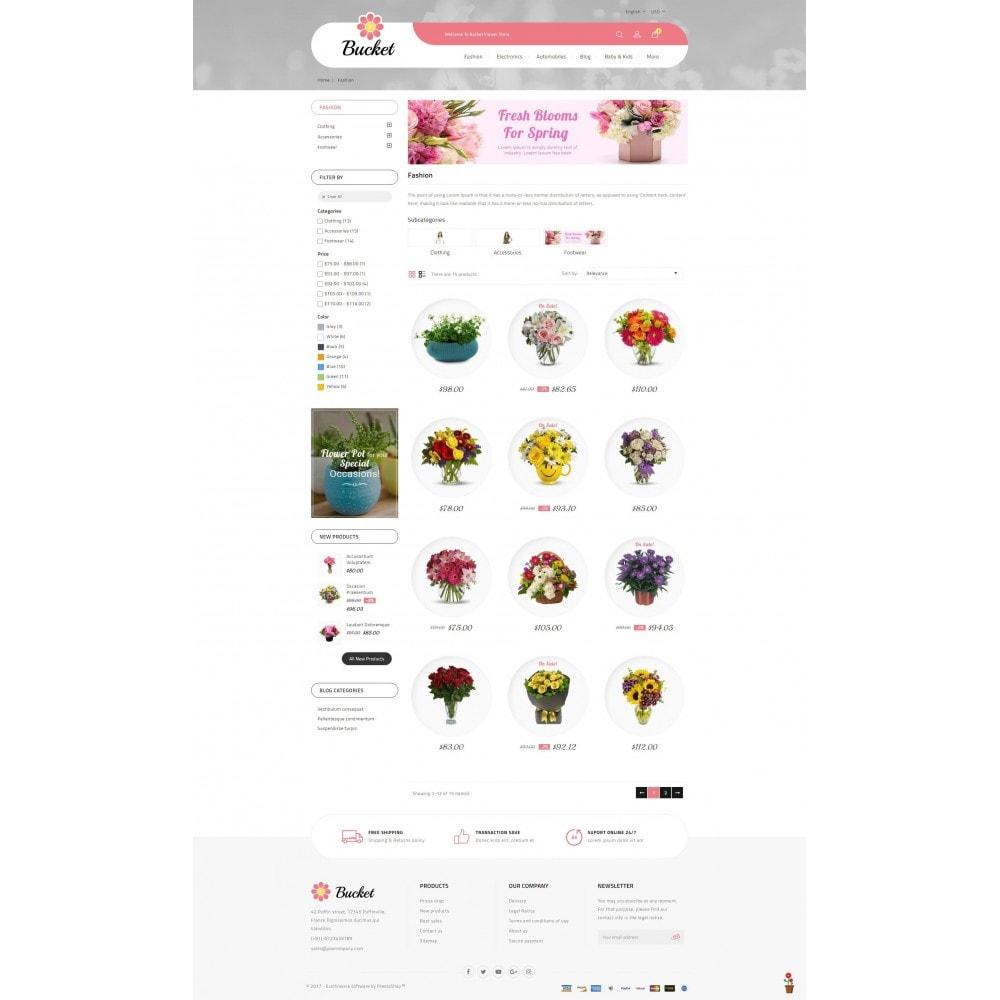 theme - Regalos, Flores y Celebraciones - Bucket Flower Store - 3