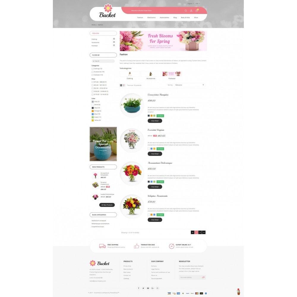 theme - Regalos, Flores y Celebraciones - Bucket Flower Store - 4