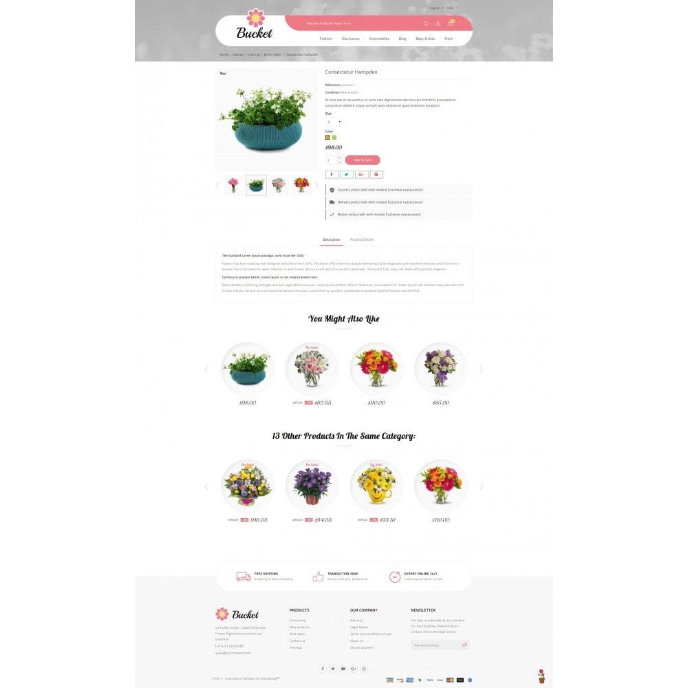 theme - Regalos, Flores y Celebraciones - Bucket Flower Store - 5
