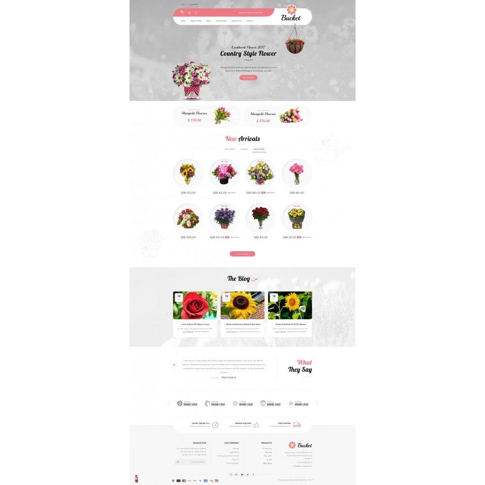theme - Regalos, Flores y Celebraciones - Bucket Flower Store - 10