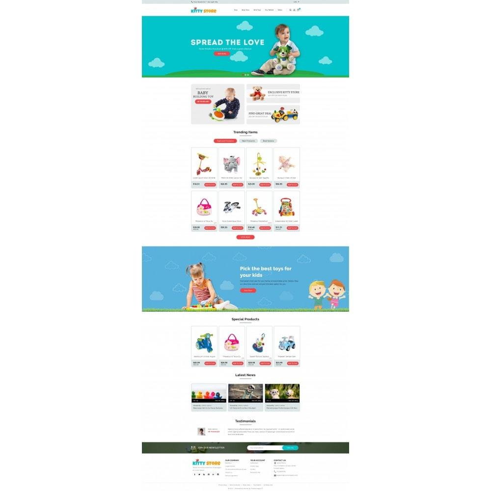 theme - Kids & Toys - KittyStore - Online Toys Store - 2