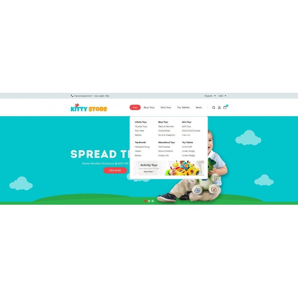 theme - Kids & Toys - KittyStore - Online Toys Store - 7