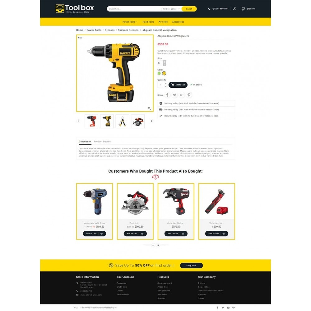 theme - Automotive & Cars - Tools Store - 5