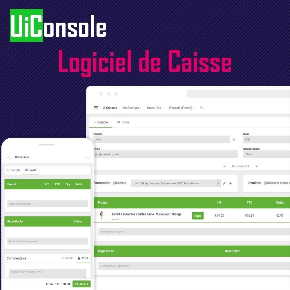 module - Comptabilité & Facturation - Ui Console – Logiciel de Caisse (POS) pour B2C et B2B - 1