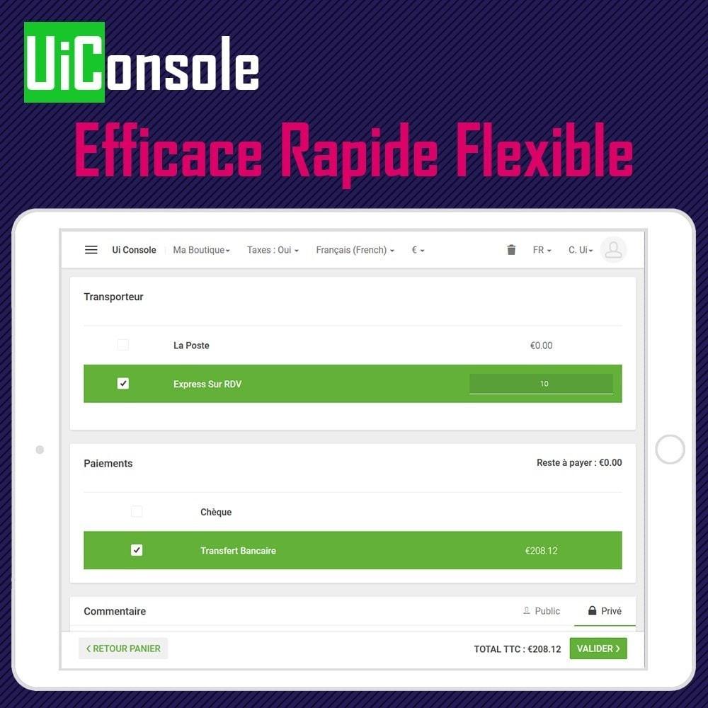 module - Comptabilité & Facturation - Ui Console – Logiciel de Caisse (POS) pour B2C et B2B - 2